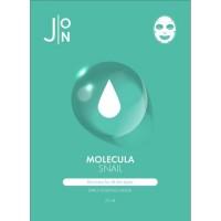J:ON Тканевая маска для лица с улиточным муцином Molecula Snail Daily Essence Mask, 23 мл