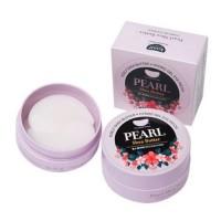 Koelf Гидрогелевые патчи для глаз с жемчугом и маслом ши Pearl & Shea Butter Hydrogel Eye Patch, 60 шт