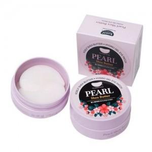 Koelf Гидрогелевые патчи для кожи вокруг глаз с жемчугом и маслом ши Pearl & Shea Butter Hydrogel Eye Patch, 60 шт