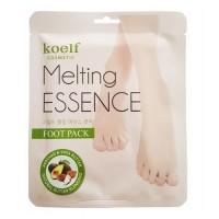 Koelf Маска-носочки для ног смягчающая Melting Essence Foot Pack