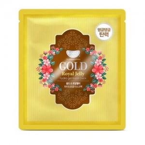 Koelf Гидрогелевая маска 'Золото и пчелиное маточное молочко' Gold & Royal Jelly Hydro Gel Mask Pack, 30 гр