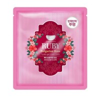 Koelf Гидрогелевая маска 'Рубин и масло болгарской розы' Ruby & Bulgarian Rose Hydro Gel Mask Pack, 30 гр
