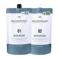 Lador Средство для выпрямления поврежденных волос Aura Volume Magic Damaged, 2 * 500 мл