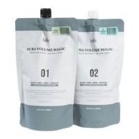 Lador Средство для выпрямления здоровых волос Aura Volume Magic Healthy, 2 * 500 мл