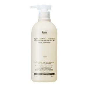 Lador Шампунь с натуральными ингредиентами Triplex Natural Shampoo, 530 мл