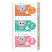 Mijin Набор от черных точек 3-Step Koala Nose Clear Solution, 7 гр