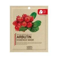 Mijin Маска тканевая с арбутином Arbutin Essence Mask, 25 гр