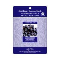 Mijin Маска тканевая с ягодами асаи Care Acai Berry Essence Mask, 23 гр