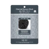 Mijin Маска тканевая с древесным углем Care Charcoal Essence Mask, 23 гр