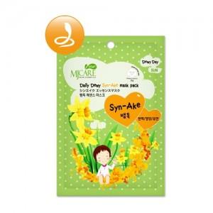Маска тканевая для лица со змеиным ядом Mijin Care Daily Dewy Syn-Ake Mask Pack, 25 гр