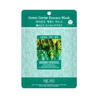 Mijin Маска тканевая с морским виноградом Care Green Caviar Essence Mask, 23 гр