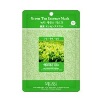 Mijin Маска тканевая с зеленым чаем Care Green Tea Essence Mask, 23 гр