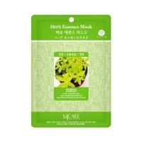 Mijin Маска тканевая с экстрактом трав Care Herb Essence Mask, 23 гр