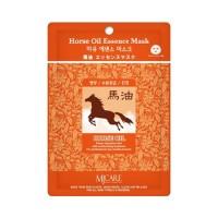 Mijin Маска тканевая с конским жиром Care Horse Oil Essence Mask, 23 гр