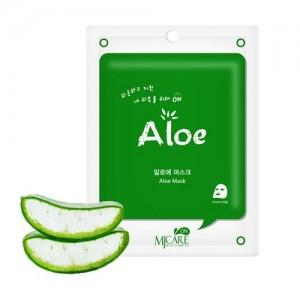 Mijin Маска тканевая с алоэ Care On Aloe Mask Pack, 22 гр