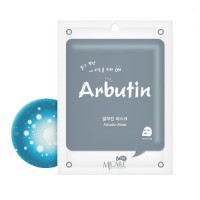 Mijin Маска тканевая с арбутином Care On Arbutin Mask Pack, 22 гр