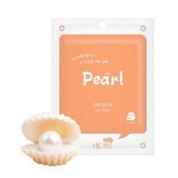 Mijin Маска тканевая с жемчугом Care On Pearl Mask Pack, 22 гр
