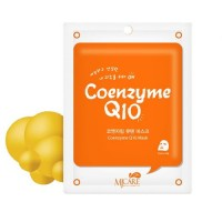 Mijin Маска тканевая с коэнзимом Care On Coenzyme Q10 Mask, 22 гр