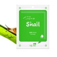 Mijin Маска тканевая с улиткой Care On Snail Mask Pack, 22 гр