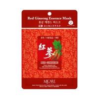 Mijin Маска тканевая с красным женьшенем Care Red Ginseng Essence Mask, 23 гр