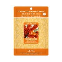 Mijin Маска тканевая с облепихой Care Vitamin Tree Essence Mask, 23 гр