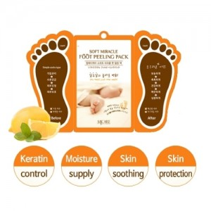 Mijin Пилинг для ног Foot Peeling Pack, 2 * 15 гр