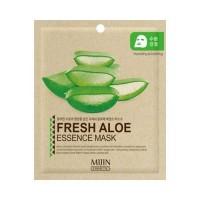Mijin Маска для лица тканевая с алоэ Fresh Aloe Essence Mask, 25 гр