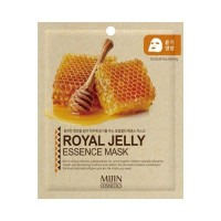 Mijin Маска для лица тканевая с маточным молочком Royal Jelly Essence Mask, 25 гр