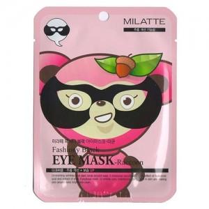 Milatte Маска от морщин вокруг глаз Fashiony Black Eye Mask-Raccoon, 10 гр