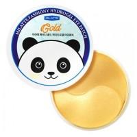 Milatte Гидрогелевые патчи для глаз с золотом Fashiony Gold Hydrogel Eye Patch, 60 шт