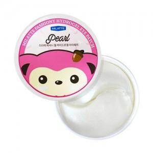 Milatte Гидрогелевые патчи для глаз с жемчугом Fashiony Pearl Hydrogel Eye Patch, 60 шт