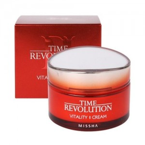 Missha Интенсивный антивозрастной крем Time Revolution Vitality Cream, 50 мл