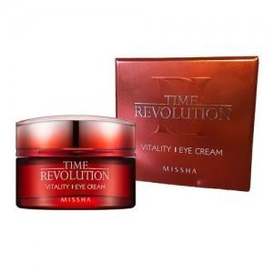 Missha Антивозрастной крем для кожи вокруг глаз Time Revolution Vitality Eye Cream, 25 мл