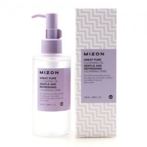 Mizon Гидрофильное масло для снятия макияжа Great Pure Cleansing Oil, 145 мл