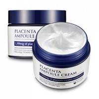 Mizon Увлажняющий крем для лица на основе плаценты Placenta Ampoule Cream, 50 мл