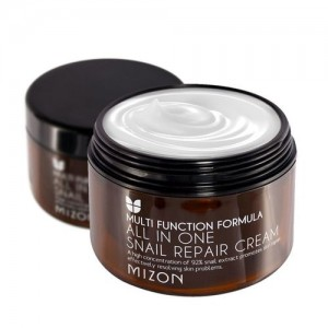 Mizon Крем для лица с муцином улитки All In One Snail Repair Cream, 120 мл