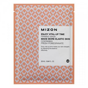 Mizon Тканевая маска с гранатом Enjoy Vital-Up Time Firming Mask, 23 гр