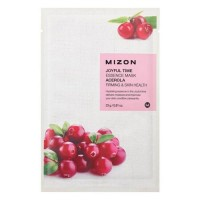 Mizon Маска для лица тканевая с ацеролой Joyful Time Essence Acerola Mask, 23 гр