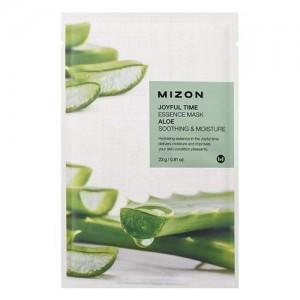 Mizon Маска для лица тканевая с алоэ Joyful Time Essence Aloe Mask, 23 гр