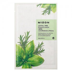 Mizon Маска для лица тканевая с травами Joyful Time Essence Herb Mask, 23 гр