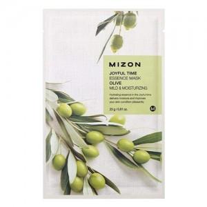 Mizon Маска для лица тканевая с оливой Joyful Time Essence Olive Mask, 23 гр