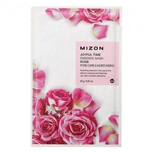Mizon Маска для лица тканевая с розой Joyful Time Essence Rose Mask, 23 гр