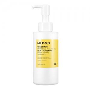 Mizon Пилинг для лица Vita Lemon Sparkling Peeling Gel, 150 мл
