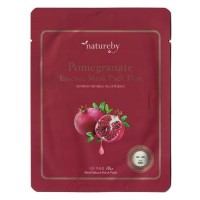 Natureby Питательная маска с экстрактом граната Pomegranate Essence Mask Sheet Plus, 23 гр