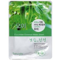 Natureby Питательная маска с экстрактом огурца Cucumber Essence Mask Sheet, 23 гр