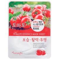 Natureby Питательная маска с экстрактом помидора Tomato Essence Mask Sheet, 23 гр