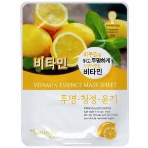 Natureby Питательная маска с витамином С Vitamin Essence Mask Sheet, 23 гр