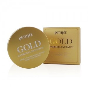 Petitfee Гидрогелевые патчи для век с золотом Gold Hydrogel Eye Patch, 60 шт