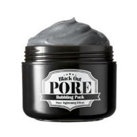 Secret Key Маска для лица кислородная Black Out Pore Bubbling Pack, 100 мл