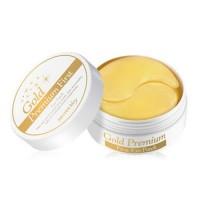 Secret Key Гидрогелевые патчи для глаз с золотом Gold Premium First Eye Patch, 60 шт